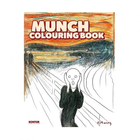 Munch Coloring Book
