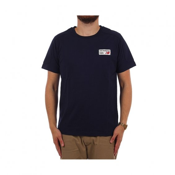 New Balance PA Pocket tee, Navy