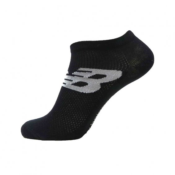 New Balance Sneaker Socks 3-Pack, Black