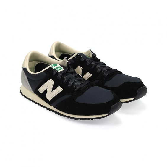 New Balance U420UKK, Black Grey