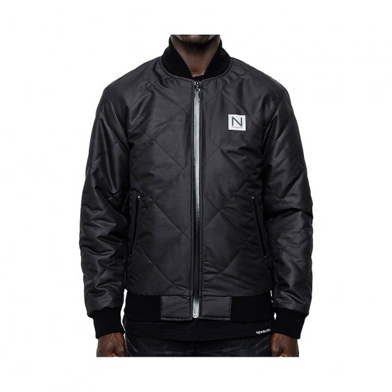 New Black Polymond Jacket, Black