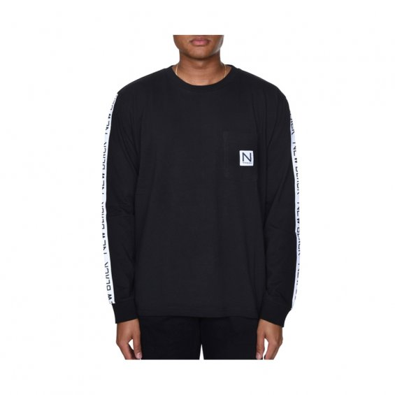 New Black Tony LS Tee, Black