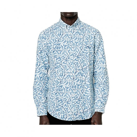 New Black Vine Oxford LS Shirt, Vine
