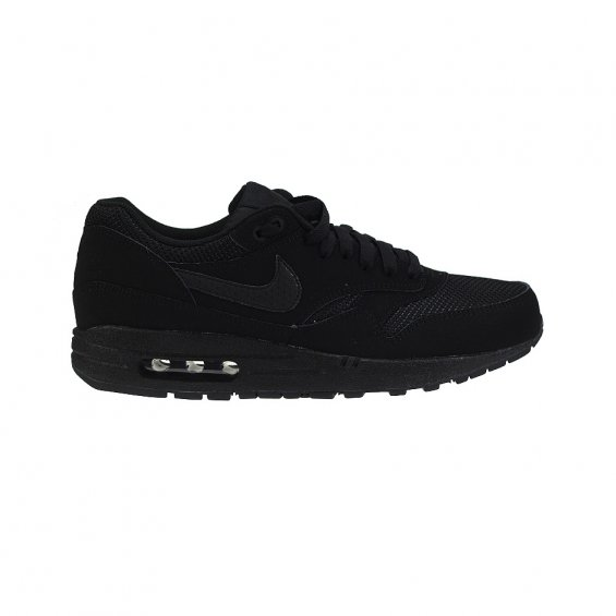 reputable site fda60 c4192 Nike Air Max 1 Essential ( 537383-025 ), Black Black   Highlights