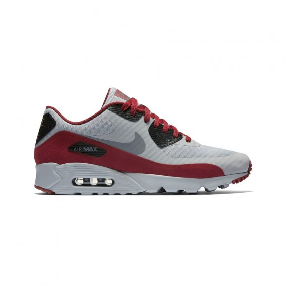 Nike Air Max 90 Ultra Essential ( 819474-012 ), Grey Red