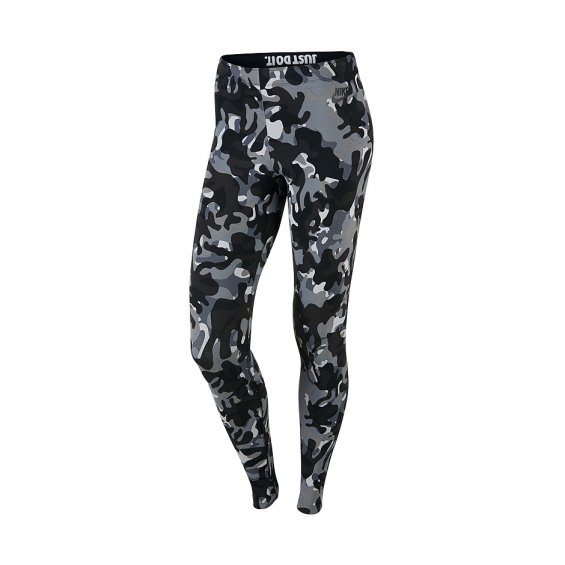 Nike Leg-A-See Printed Leggings, Black Camo