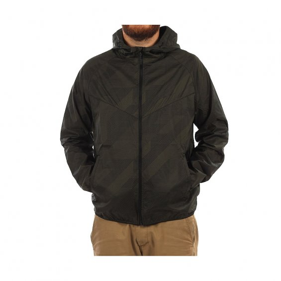 Nike Printed Windrunner, Black Black