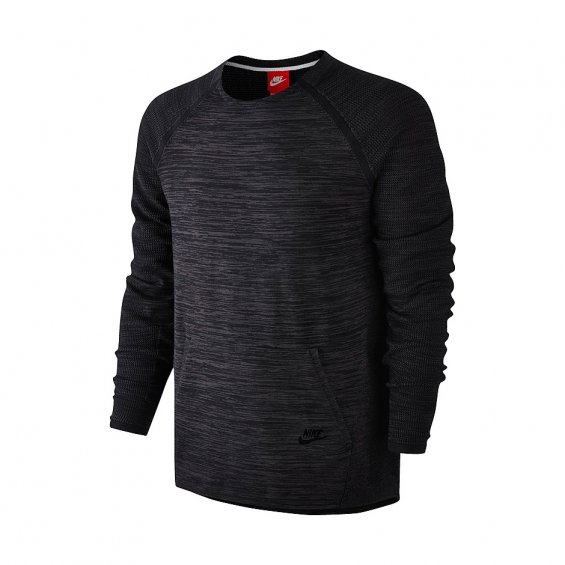 Nike Tech Knit Crew, Black