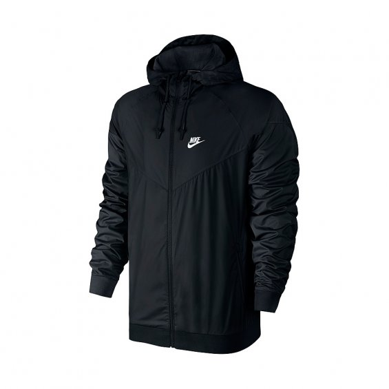 Nike Windrunner Jacket, Black White