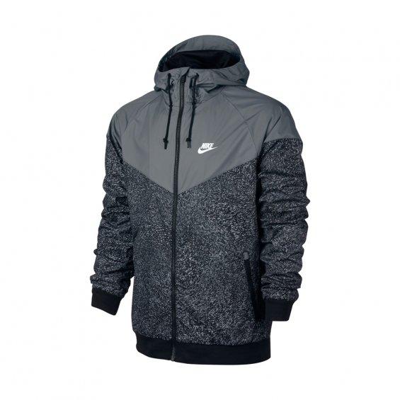 Nike Windrunner Jacket, Cool Grey Black Black