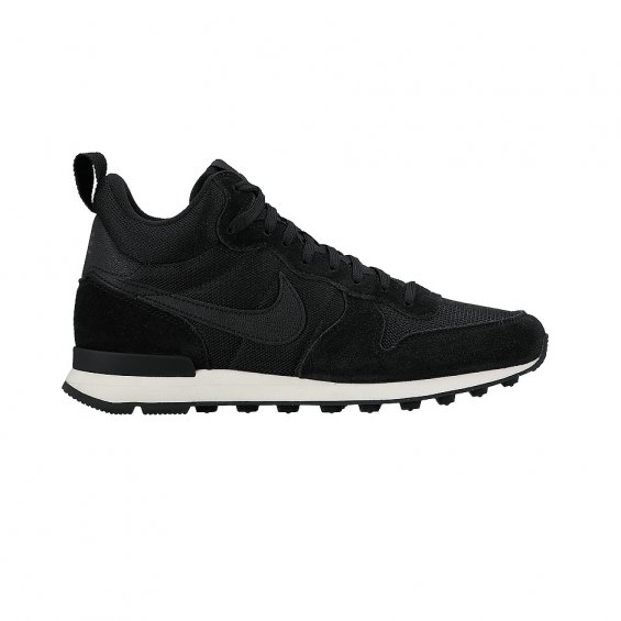 Nike Wmns Internationalist Mid ( 683967-006 ), Black