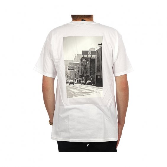 Obey Cincinnati Icon Photo Tee, White