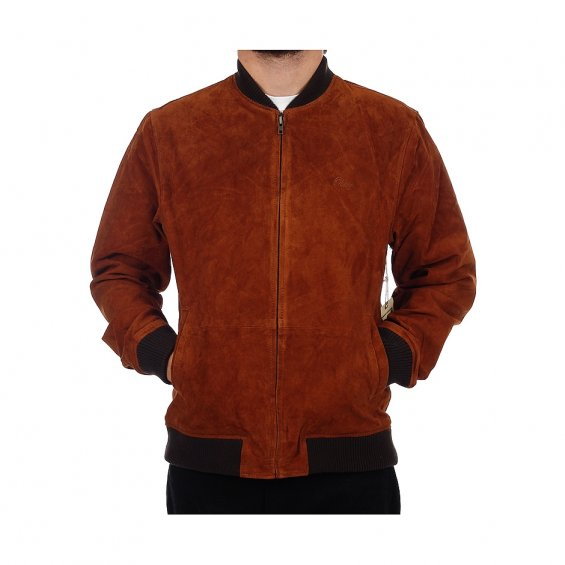 Obey Downtown Suede Jacket, Caramelcafe