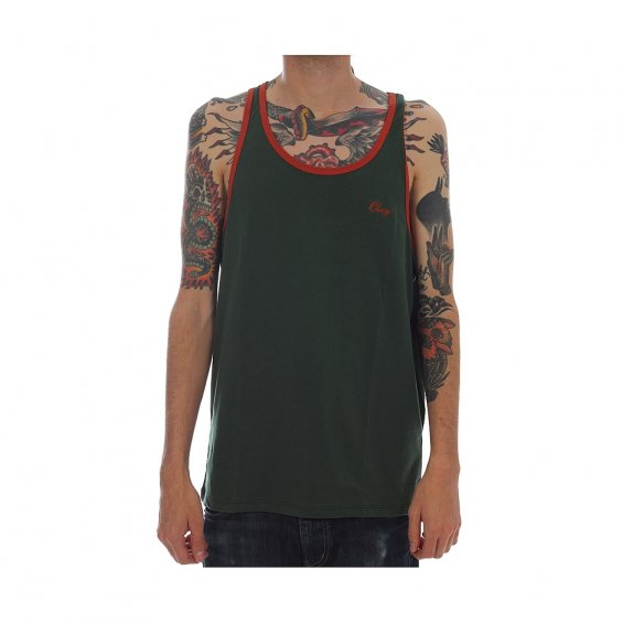 Obey Lightweight Script Tank Linen, Sycamore