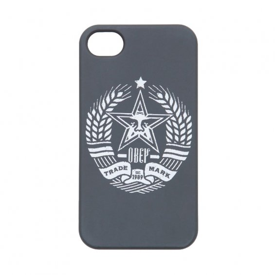 Obey Trademark Iphone5 Case, Black