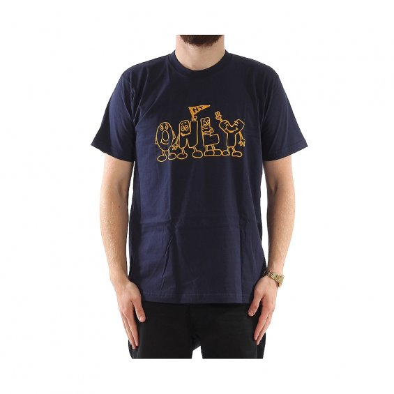 ONLY Alphabet Tee, Navy
