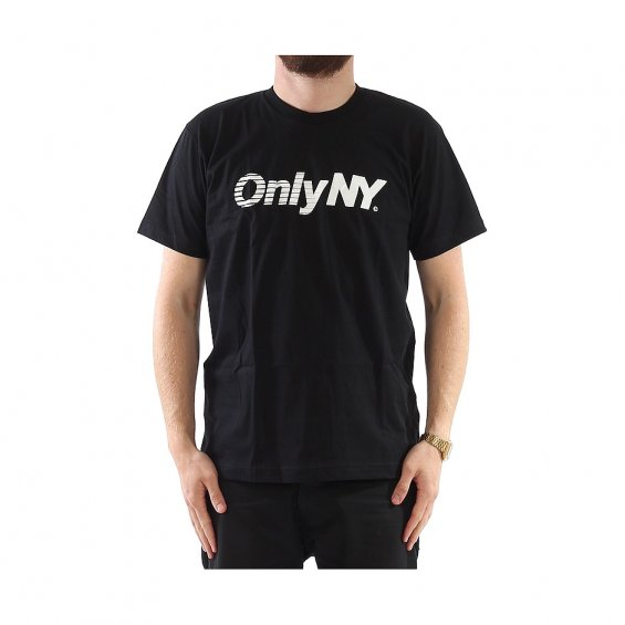 ONLY Express Logo Tee, Black