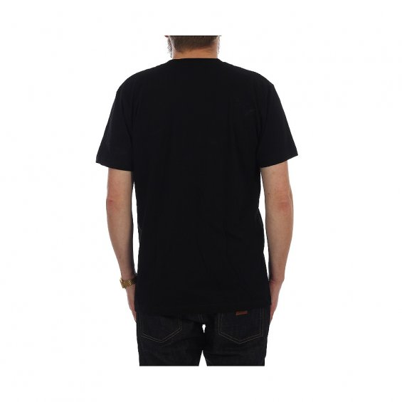 ONLY Messenger Pocket Tee, Black