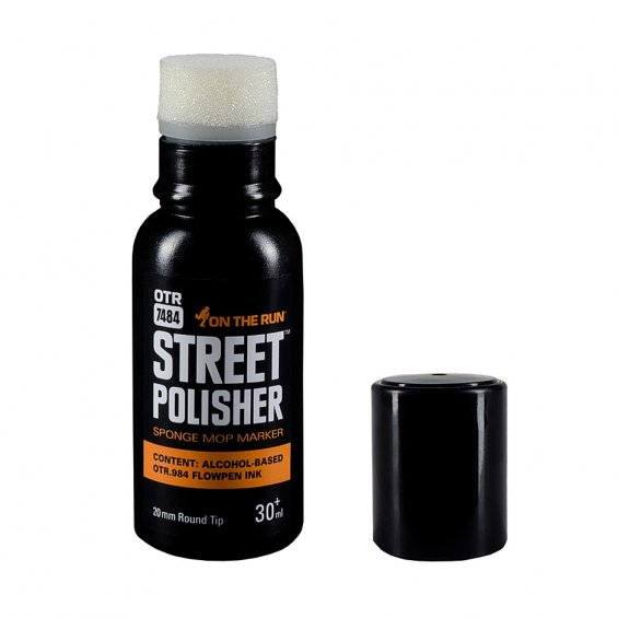 OTR.7484 Street Polisher Mini, Black