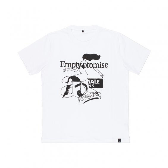 Parra Empty Promise T-shirt, White