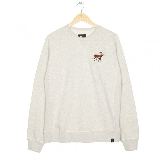 Parra Retired Racer Sweater, Oatmeal