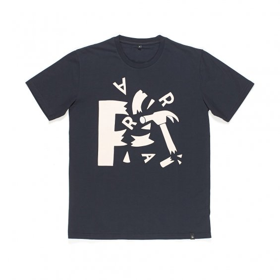 Parra Shattered T-shirt, Navy Blue