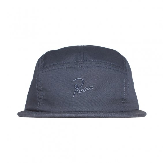 Parra Signature Logo 5-Panel Volley, Navy Blue