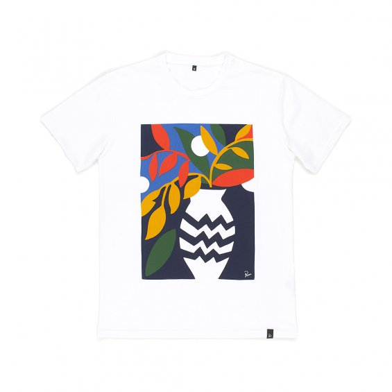 Parra Still Life With Plant Tee, White