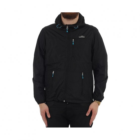 Penfield Chevak Packable Jacket, Black