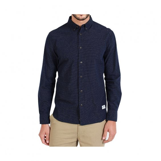 Penfield Perry LS Shirt, Navy