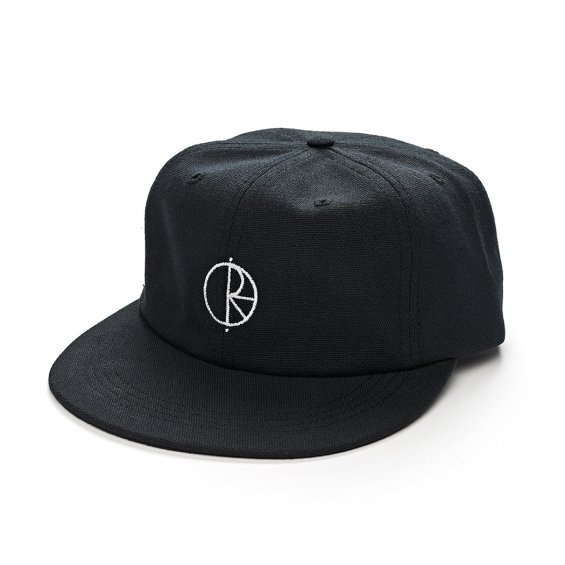 Polar Skate Canvas Cap, Black