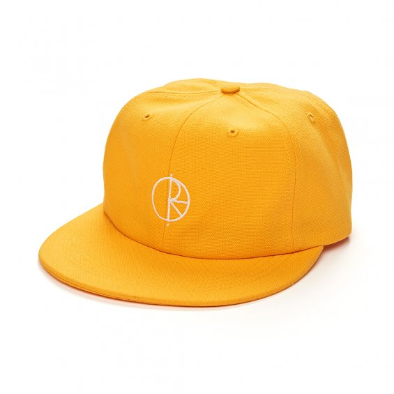 Polar Skate Canvas Cap, Yellow