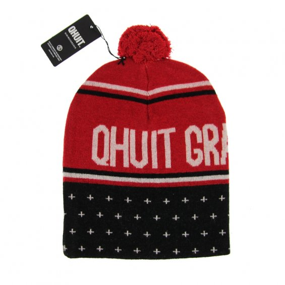 Qhuit Da Grand Crue Beanie Red