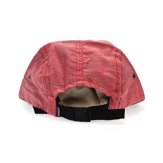 Qhuit Square 5-Panel, Red