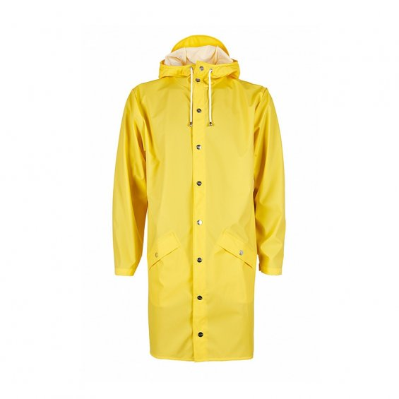 Rains Long Jacket, Yellow