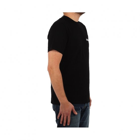Rascals High Neck Tee, Black