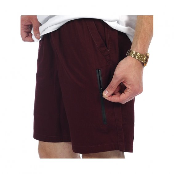 Rascals Summer Shorts, Bordeaux