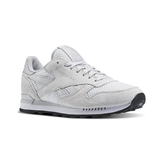 Reebok CL Leather Clip T ( AR1275 ), Skull Grey