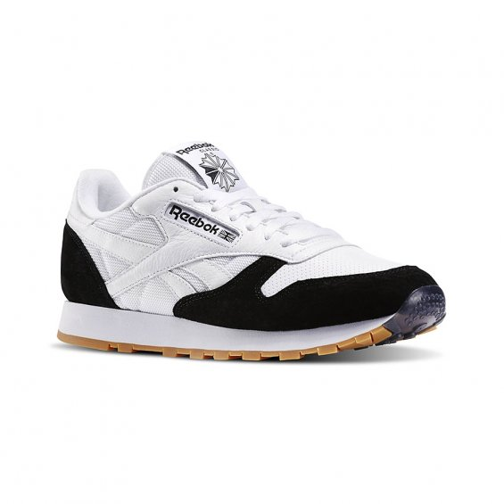 Reebok CL Leather SPP ( AR1894 ), White Black
