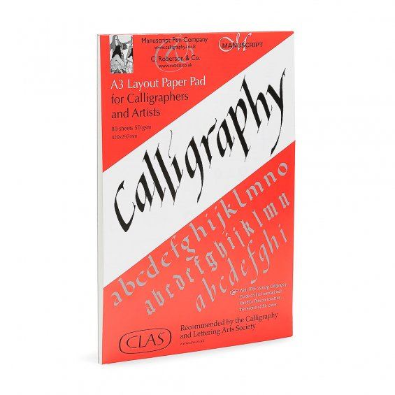 Roberson Calligraphy Layout Pad A3