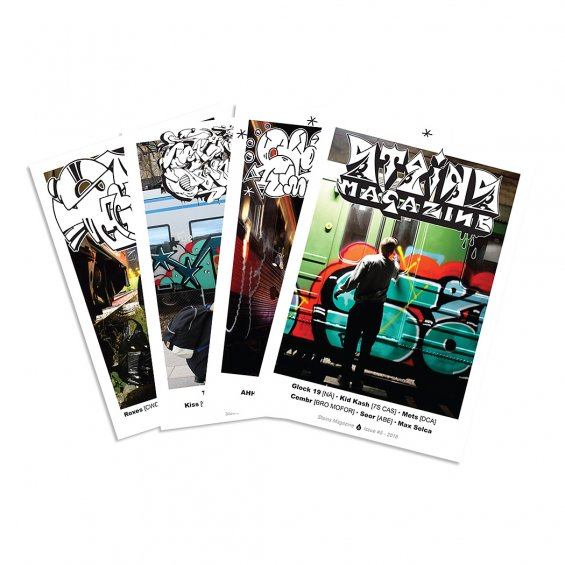 Stains Magazine 2-5 DEAL