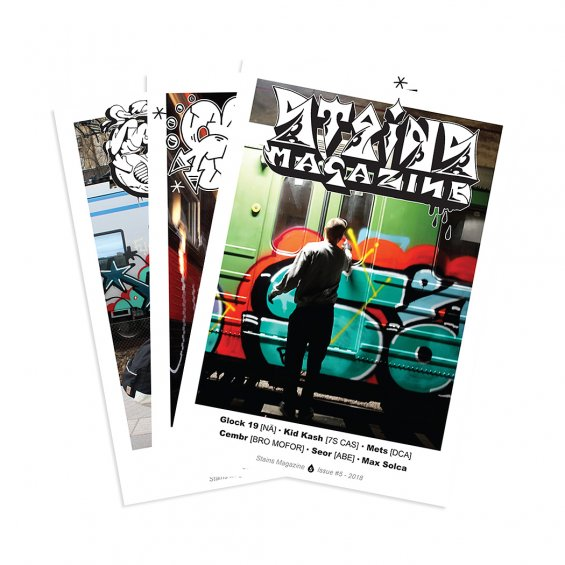 Stains Magazine 3-5 DEAL
