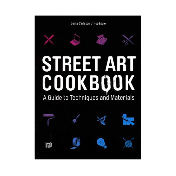 Street Art Cookbook, Soft Cover