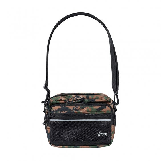 Stussy Digi Camo Shoulder Bag, Digital Camo