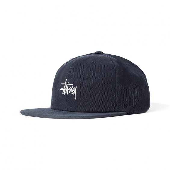 cheap stussy baseball cap smooth stock twill navy quilted snapback aliexpress
