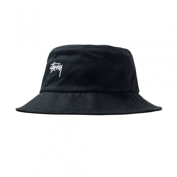 36a87e25 Stussy Stock Bucket Hat SP19, Black - Hlstore.com | Highlights