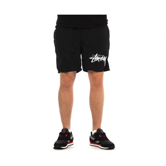 Stussy Stock Elastic Trunk, Black