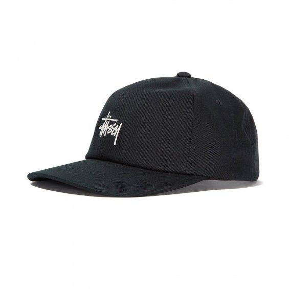 Stussy Stock Low Pro Cap FA18, Black