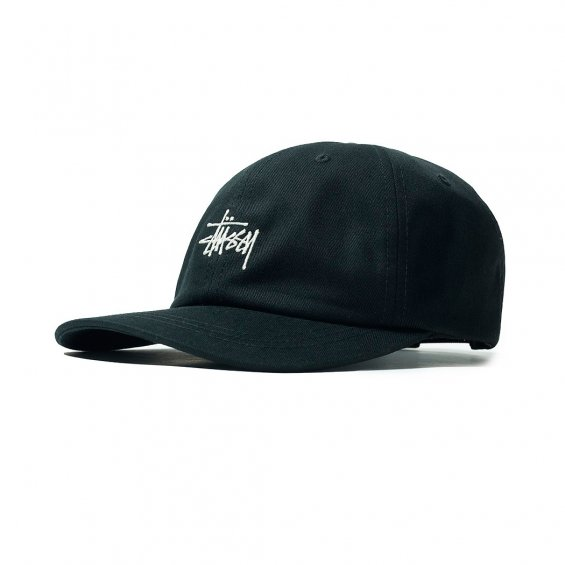 Stussy Stock Low Pro Cap SP19, Black