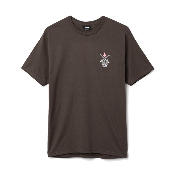 Stussy Swords Tee, Charcoal